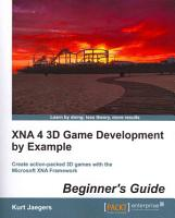 XNA 4 3D Game Development by Example PDF