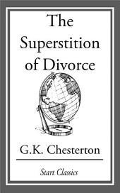 The Superstition of Divorce
