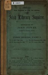 The Irish Literary Inquirer: Issue 1