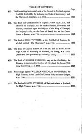A Complete Collection of State Trials and Proceedings for High Treason and Other Crimes and Misdemeanors from the Earliest Period to the Year 1783: 1700-08