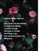 Serenity Prayer Journal PDF