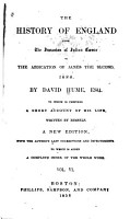 The History of England from the Invasion of Julius Caesar to the Abdication of James the Second  1688 PDF