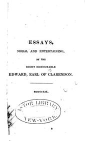 Essays, Moral and Entertaining