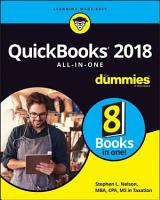 QuickBooks 2018 All in One For Dummies PDF