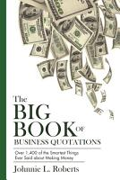 The Big Book of Business Quotations PDF