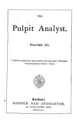 The Pulpit Analyst PDF
