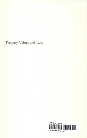 Property Values and Race