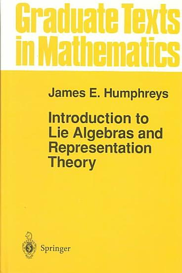 Introduction to Lie Algebras and Representation Theory PDF