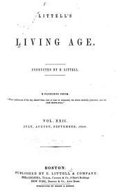 Littell's Living Age: Volume 22