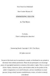 Simmering Death: Slow Cooker Mystery #2