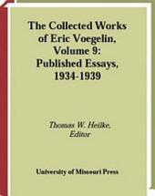 Published Essays: 1934-1939