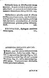 Disceptationum chronographicarum de Rheni