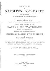 Memoirs of Napoleon Bonaparte: Volume 1