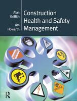 Construction Health and Safety Management PDF