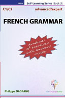 FRENCH GRAMMAR   Advanced expert  with Answers  PDF