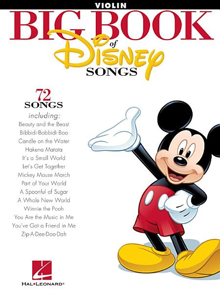 Download The Big Book of Disney Songs for Violin Book