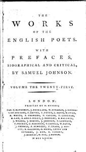 The Works of the English Poets: With Prefaces, Biographical and Critical, Volume 21