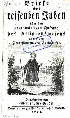 Briefe eines reisenden Juden   ber den gegenw  rtigen Zustand des Religionswesens unter den Protestanten und Catholiken PDF