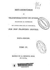 Metamorfóseos o Transformaciones: Volumen 4