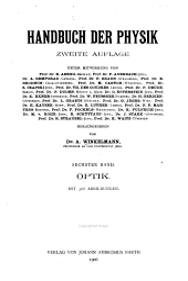 Handbuch der Physik: Band 6