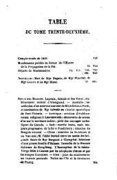 Annales de la propagation de la foi: Volumes31à32