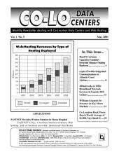 Co-Lo Data Centers Newsletter