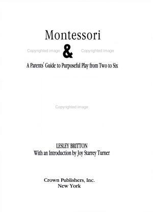 Montessori Play   Learn PDF