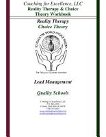 Reality Therapy and Choice Theory Workbook PDF