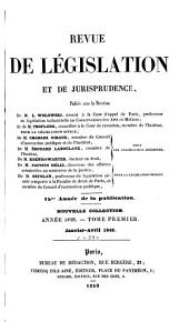 Revue de législation et de jurisprudence: Volume11;Volume34