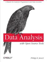 Data Analysis with Open Source Tools PDF