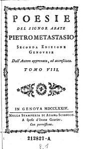 Poesie: Volume 8