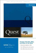 The Quest Study Bible PDF