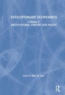 Evolutionary Economics: v. 2
