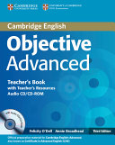 Objective Advanced Teacher's Book with Teacher's Resources Audio CD/CD-ROM