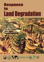 Response to Land Degradation PDF
