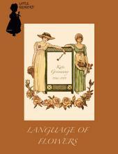 1884年英文童书绘本 Language Of Flowers (花语)
