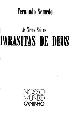 As novas seitas parasitas de Deus PDF