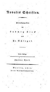 Novalis Schriften