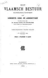 Het Vlaamsch bestuur: mandelijksch tijdschrift voor gemeente-kerke-en armbesturen, Volume 4