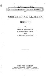Commercial algebra: Volume 2