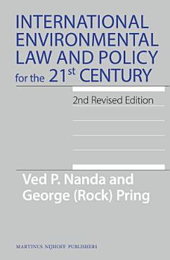 International Environmental Law and Policy for the 21st Century PDF