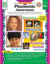 Phonemic Awareness, Grades PK - 1: Activity Pages and Easy-to-Play Learning Games for Introducing and Practicing Short-and Long-Vowel Phonograms