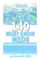 140 Must Know Meds Book