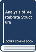 Analysis of Vertebrate Structure PDF