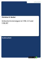 Echtzeiterweiterungen in UML 2.0 und UML-RT