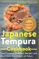 Japanese Tempura Cookbook Book PDF