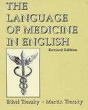 The Language of Medicine in English PDF