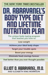 Dr  Abravanel s Body Type Diet and Lifetime Nutrition Plan Book