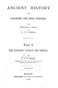 Ancient History for Colleges and High Schools PDF