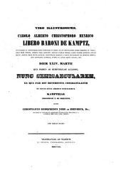 Kamptzia: novum arborum Myrtacearum genus. (Programma gratulatorium).